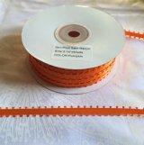 【ピコ リボン】3/16インチ幅 50ヤード オレンジ(パンプキン)