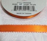 【ピコ リボン】5/8インチ幅 50ヤード ブラッドオレンジ(オレンジ)